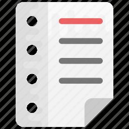 checklist, task list, to do list, work order, work plan icon