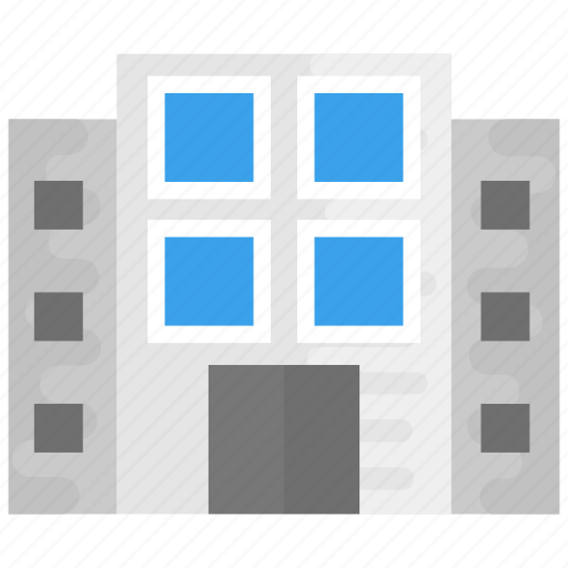 architecture, building, building exterior, large building, modern building icon