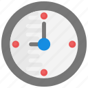 wall clock, clock, watch, timer, time icon