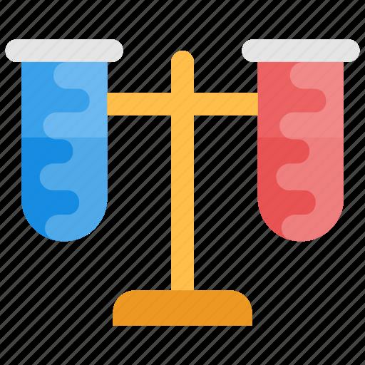 chemical laboratory, laboratory, laboratory glassware, test flask, test tube icon