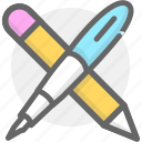 learning, pen, pencil, study icon