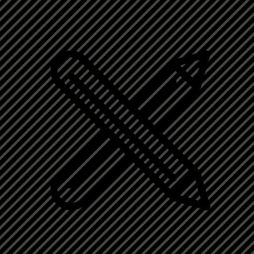crosspencils icon