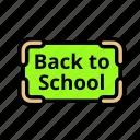 backtoschool icon