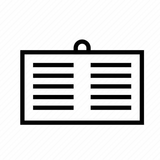 idea, poster, text icon