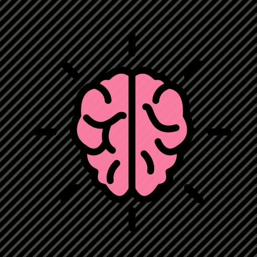 brain, intelligentshine, smart icon