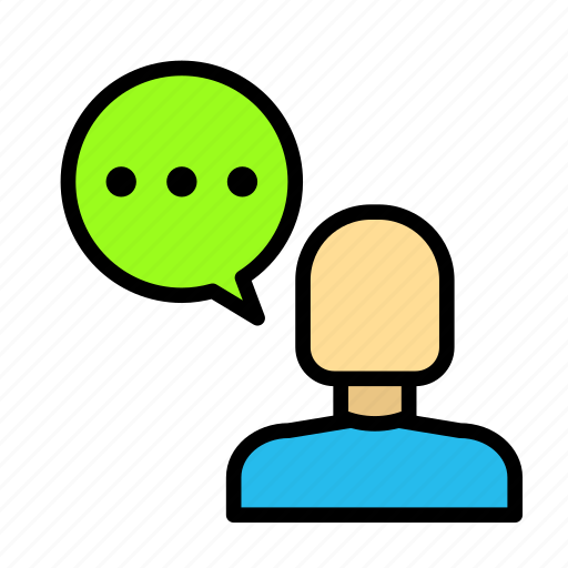 bubble, chat, discuss, graduation, people, student, user icon