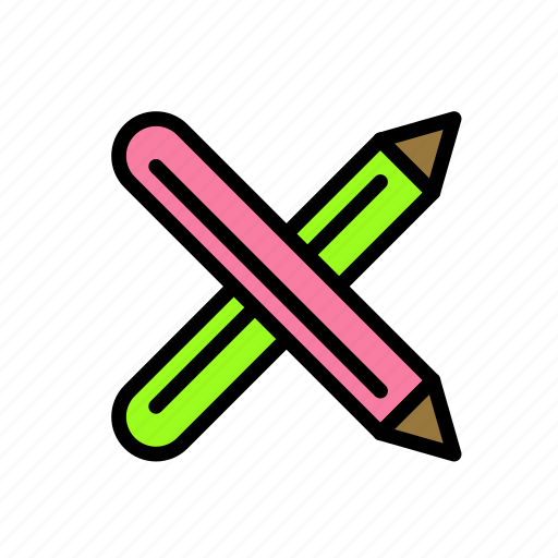 Cross, draw, pencil, search, write icon - Download on Iconfinder