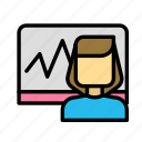 board, calculation, economy icon