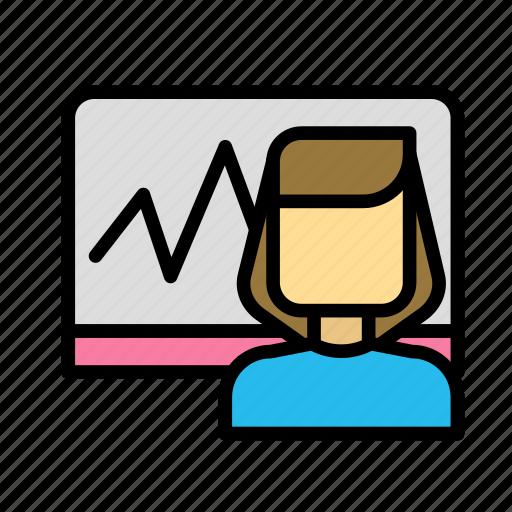 board, calculation, economy icon