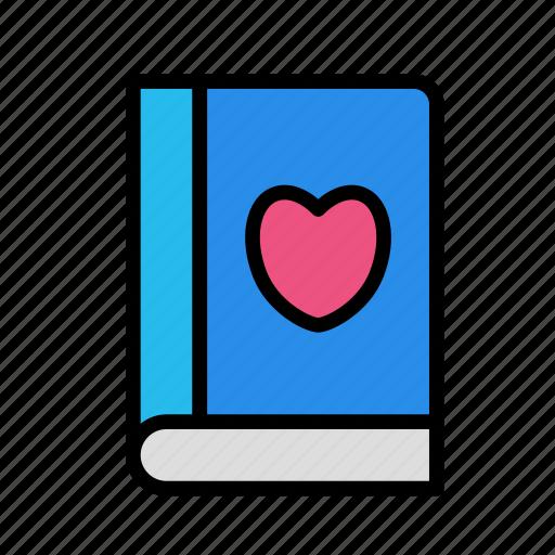 board, like, love, prof, teacher, user, userbook icon