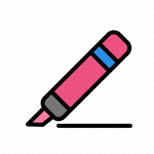Draw, hand, marker, search, tool, write icon - Download on Iconfinder