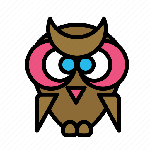 class, learn, owl, study icon