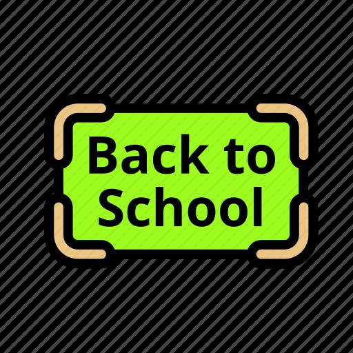 camp, language, letters, school, university, user, vacancy icon