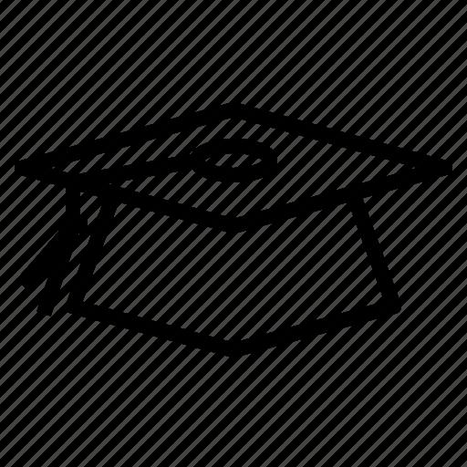 bachelor, cap, education, graduation, hat, mortboard icon
