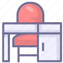 desk, learning, office, study icon
