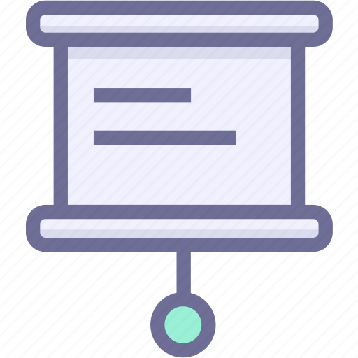 education, learning, slideshow, teaching icon