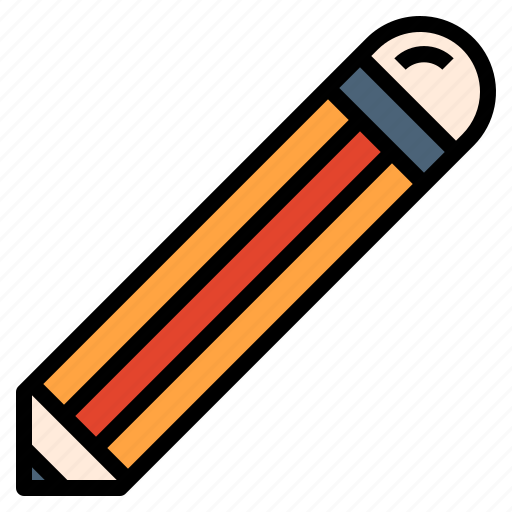 draw, education, pencil, study, write icon