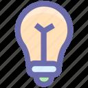 bulb, electric, electricity, idea, lamp, light, light bulb, technology icon