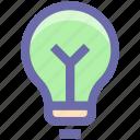 bulb, electric, idea, lamp, light, light bulb, tips icon