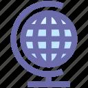 global, globe, internet, location, map, world, world globe, world map, worldwide icon