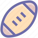 ball, football, goal, sports, touch ball, touch down icon