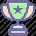 award, champion, cup, prize, reward, trophy, win, winner icon