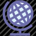 earth, form, global, globe, internet, map, world, world globe icon