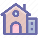 apartment, building, home, house, school icon