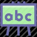 black board, board, education, graph, school, school board icon