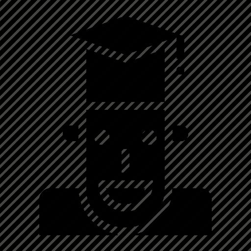 Cap, college, graduation, hat, people, student, university icon - Download on Iconfinder