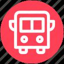 .svg, bus, school, school bus, transport, vehicle icon