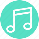 .svg, music, music sign, musical, note, song, sound icon