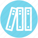 .svg, books, education, knowledge, library, reading, study icon