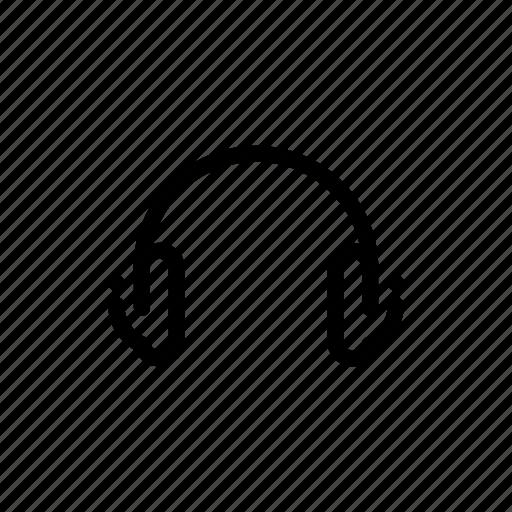 audio, headphone, headphones, headset, sound icon