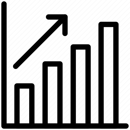 financial, graph, stock, success icon icon