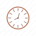 clock, education, learn, lesson, school, tools icon