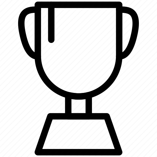 award, cup, shape, silhouette, symbol, trophies, trophy icon