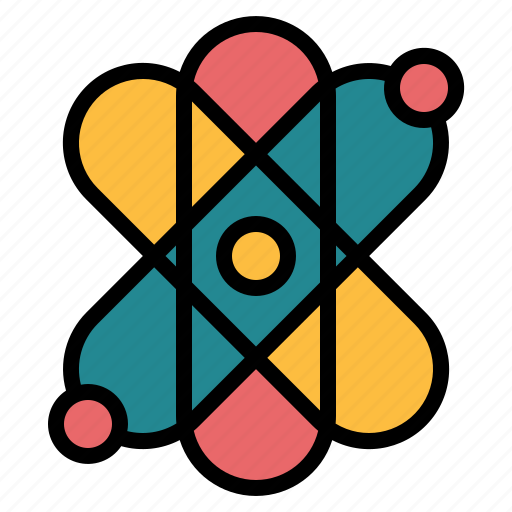 Atomic, education, electron, science icon - Download on Iconfinder