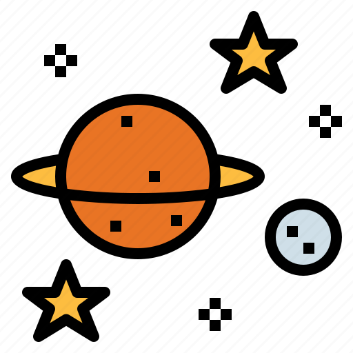 Education, saturn, science, space icon - Download on Iconfinder