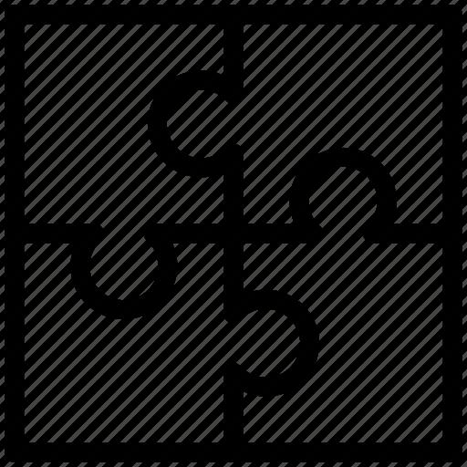 puzzle game, puzzle piece, puzzle pieces icon