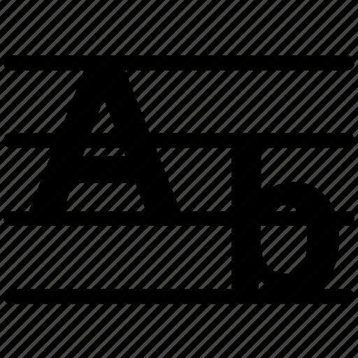 alphabet, english, language icon icon