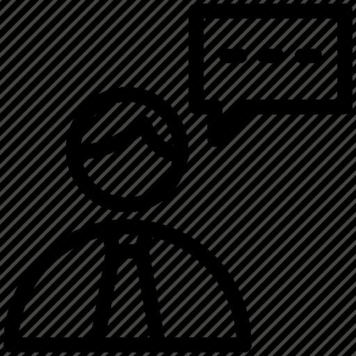 customer service, help, info, speech bubble, support, telemarketer icon