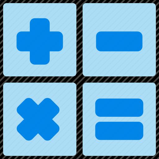 Calculator, education, math, school icon - Download on Iconfinder