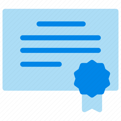 Award, certificate, license, school icon - Download on Iconfinder