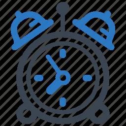 alarm clock, time management, wake up icon