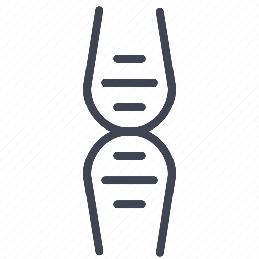 biology, dna, education, laboratory, molecule, science icon