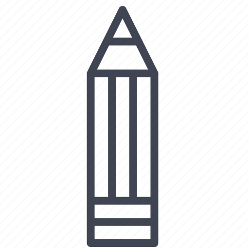 Pencil, edit, education, pen, write icon - Download on Iconfinder