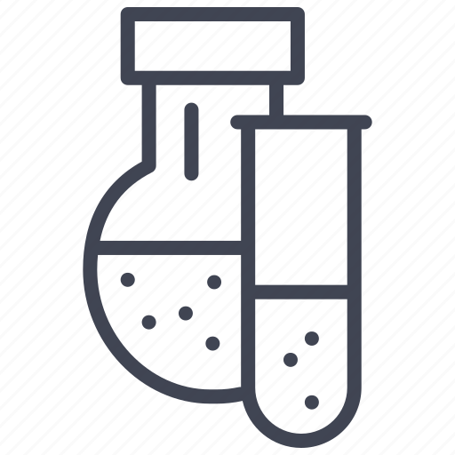 chemistry, education, lab, laboratory, science, test, tubes icon