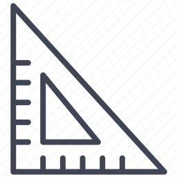 creative, education, geometry, grid, shape, triangle icon