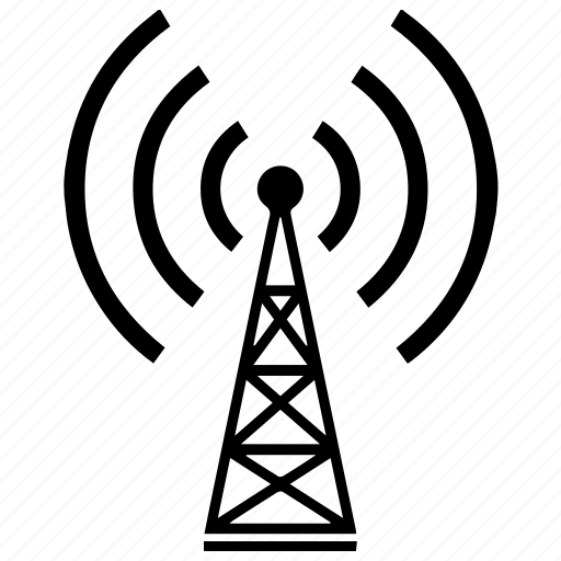 antenna, connection, device, radio, signal, technology, wireless icon